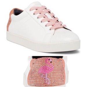 Sam Edelman Collins 2 Flamingo Sneakers
